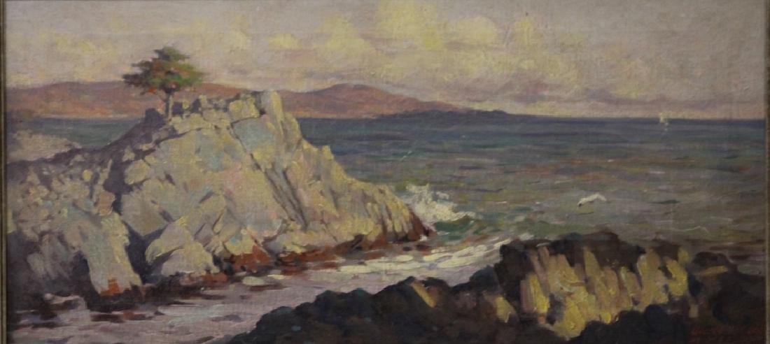 GEORGE WILLIAM KEGG (1884-1940), OIL ON CANVAS