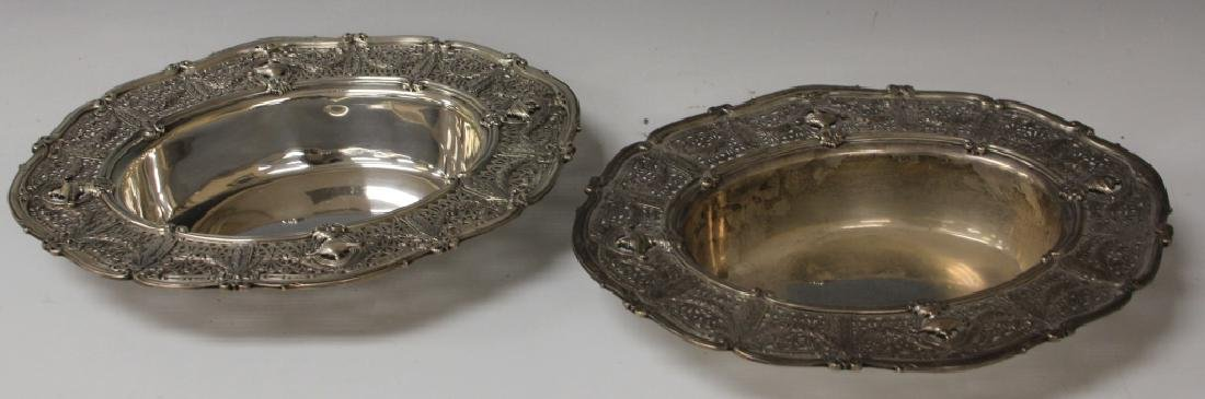 SHREVE AND COMPANY STERLING SILVER COMPOTES