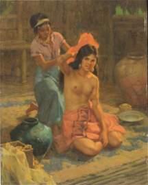 FERNANDO CUETO AMORSOLO (1892-1972), O/CB