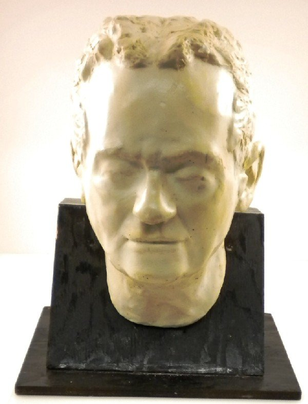 2: Plaster Sculpture of a Head