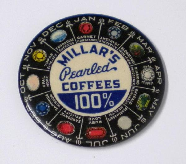 5: Millar's Coffees Pocket Mirror