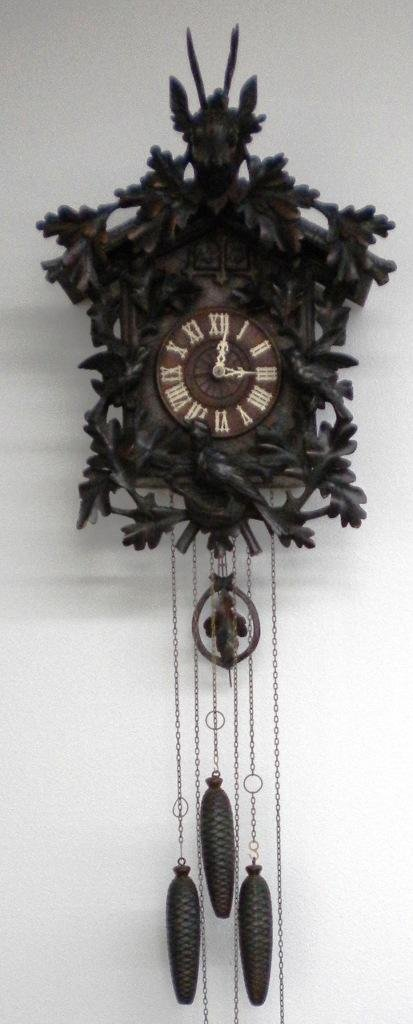 6: Old Black Forest Cuckoo Clock