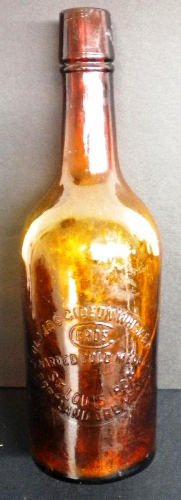 10: Antique Whiskey Bottle