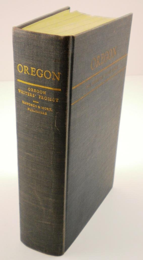 13: 1940 Oregon End of the Trail Book