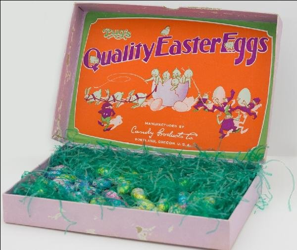 17: Easter Egg Candy Box
