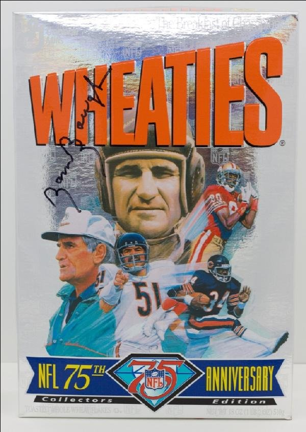 18: 1994 Wheaties Box celebrating the NFL's 75th Annive
