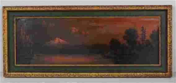 100: Eliza Barchus Painting of Mt. Hood - WITHDRAWN