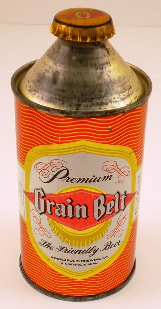 138: Grain Belt Premium Cone-Top Beer Can