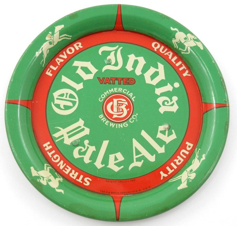 11: Old India Pale Ale Tin Litho Tip Tray