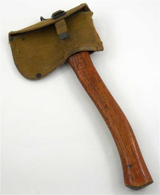 17 Official Boy Scout Hatchet Plumb Belt Axe