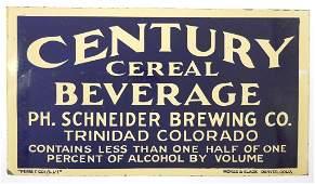 215 PH Schneider Brewing Co Prohibition Sign