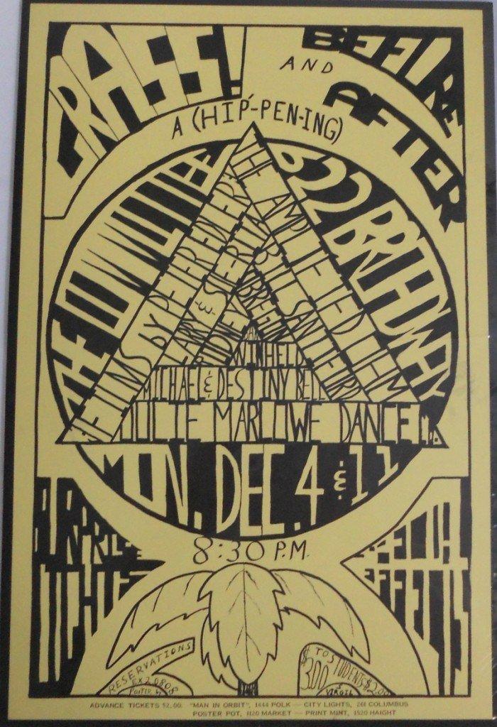 11: HIP'-PEN-ING Film Festival  Poster, Dec, 1967,  San