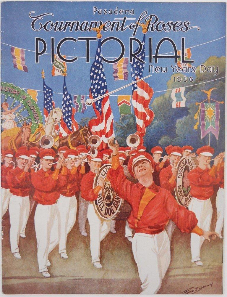 13: 1936 Pasadena Tournament of Roses Pictorial