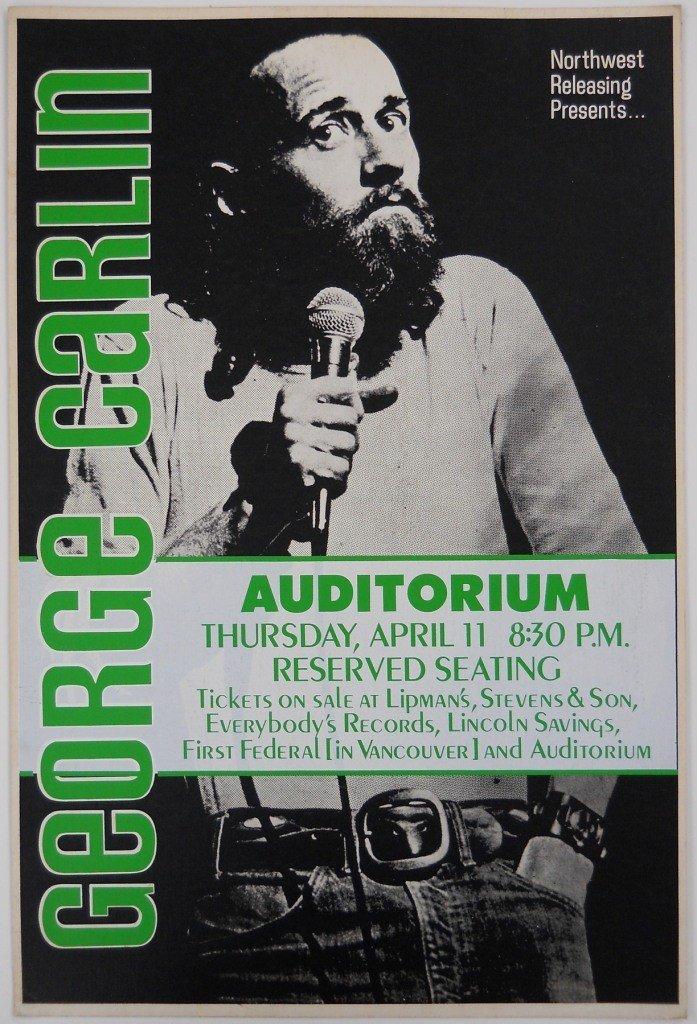18: 1974 George Carlin Poster