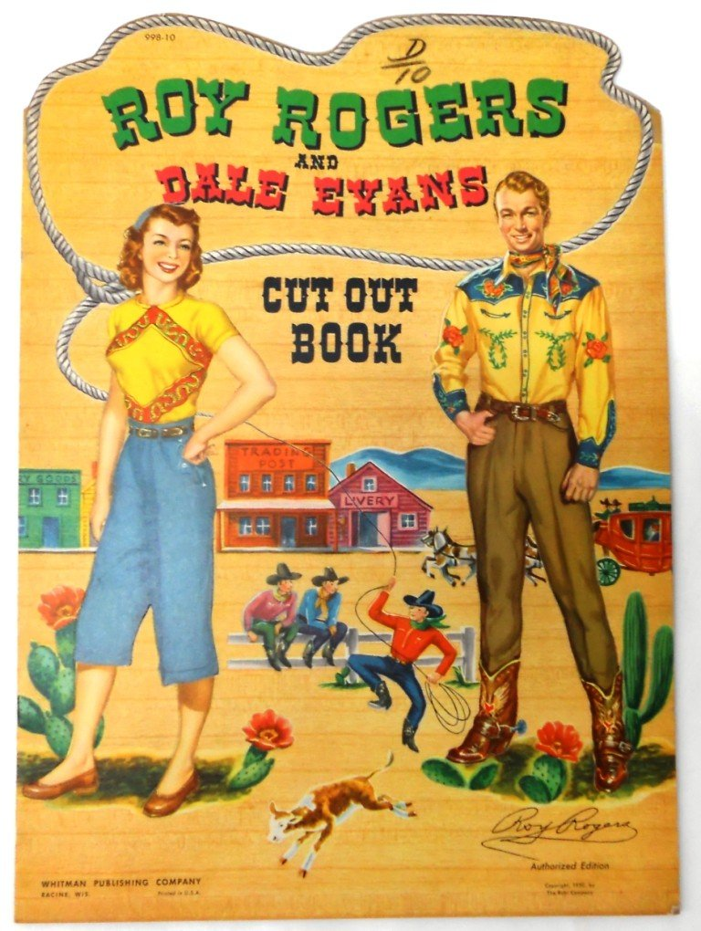 19: Roy Rodgers & Dale Evans Cut Out Book