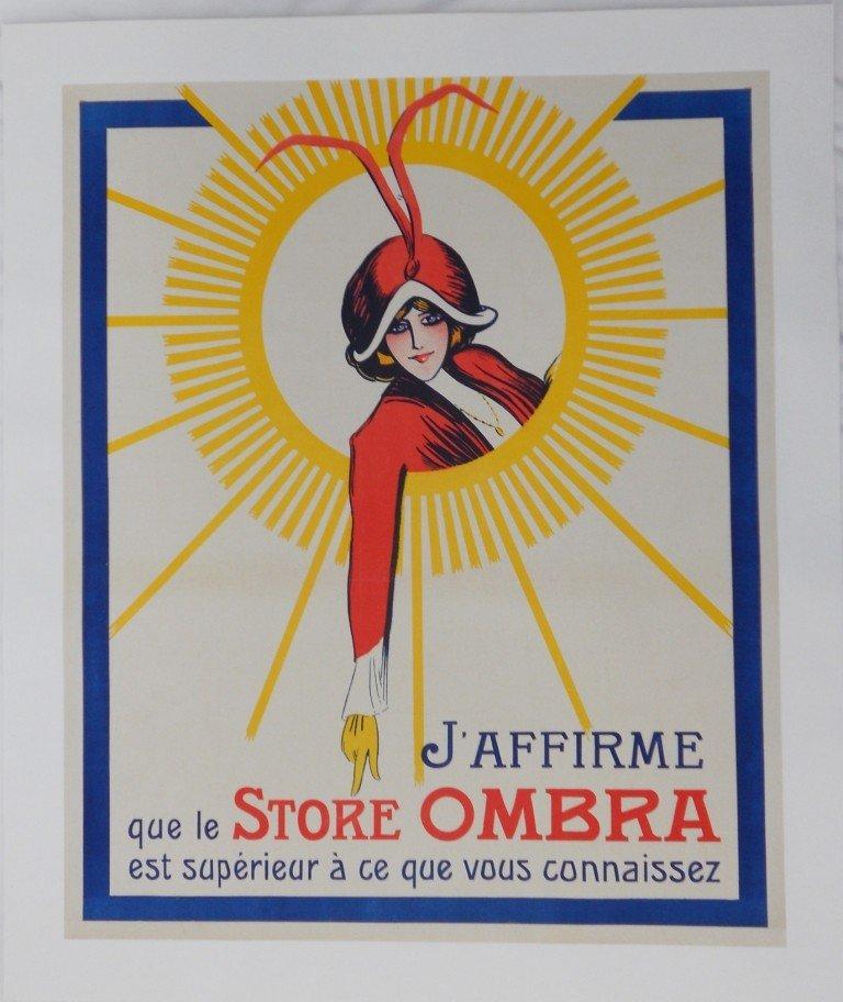 21: Vintage Original 1920s French Advertising Poster