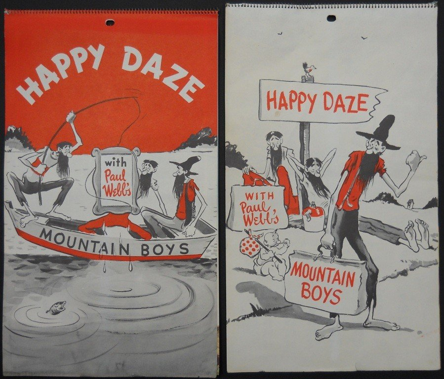22: 2 Mountain Boys Calendars