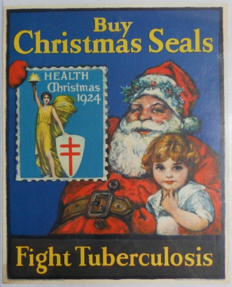23: 1924 Christmas Window Sign