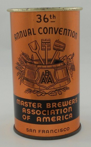 """5: 36th Annual Convention """"Master Brewer's Association"""