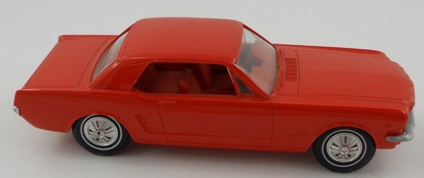 8: 1966 Red Mustang Dealer Promo