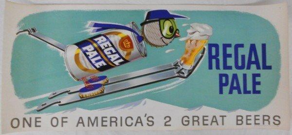 10: 1955 Regal Pale Beer Poster