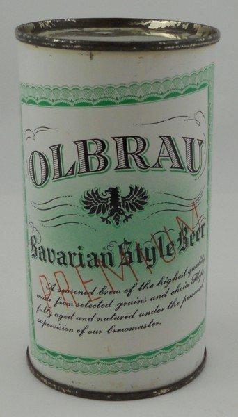 17: Oldbrau Bavarian Style Beer Flat Top Beer Can