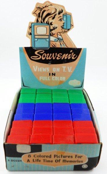 19: 36 Miniature Souvenir T.V. Viewers