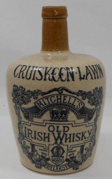20: Stoneware Cruiskeen Lawn Irish Whisky Jug