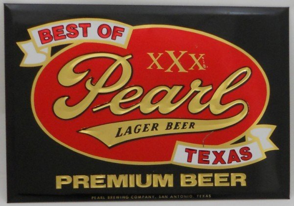 4: Pearl Beer Sign