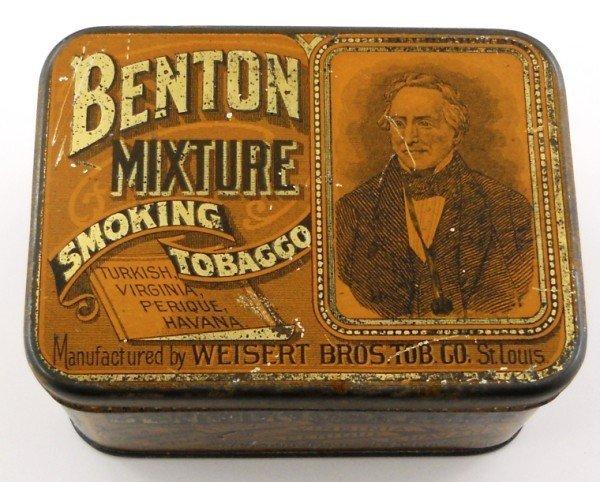 5: Benton Mixture Smoking Tobacco Tin