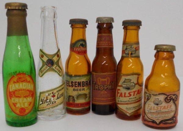 10: Lot of assorted Mini Beer Bottles