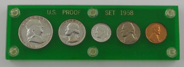 12: 1958 P - U.S. Proof Set