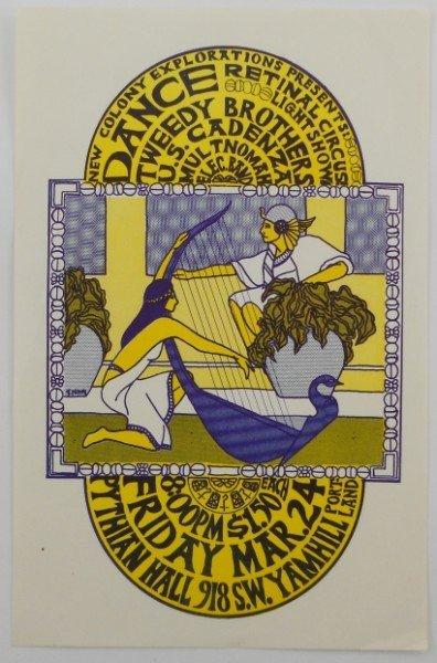 13: Pythian Hall Dance Handbill - Portland