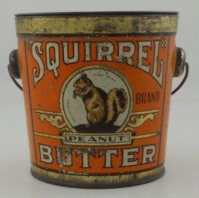 Squirrel Peanut Butter Tin.