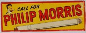 16: Philip Morris Sign
