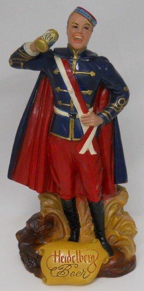 1: Heidelberg Beer Student Prince Chalk Statue