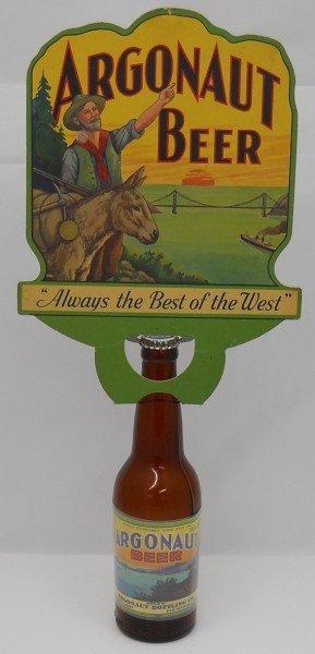 6: Argonaut Beer Bottle with Bottle Topper