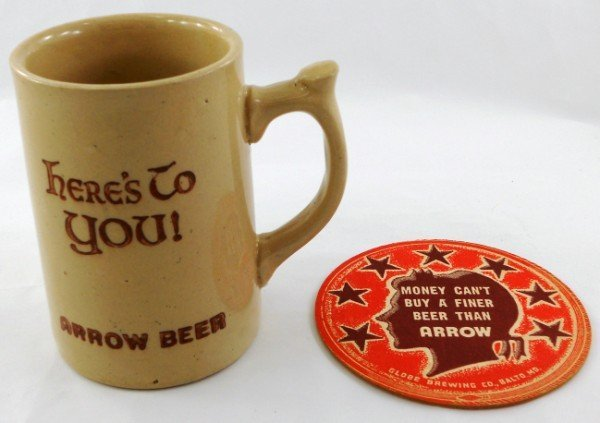 7: Here's To You - Arrow Beer - Stein