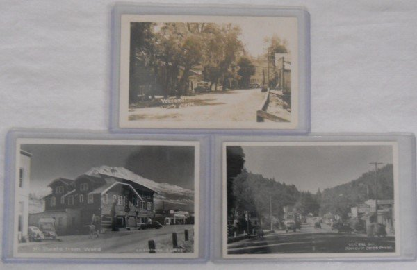 9: (3) Three 1940 Circa Post Cards from California