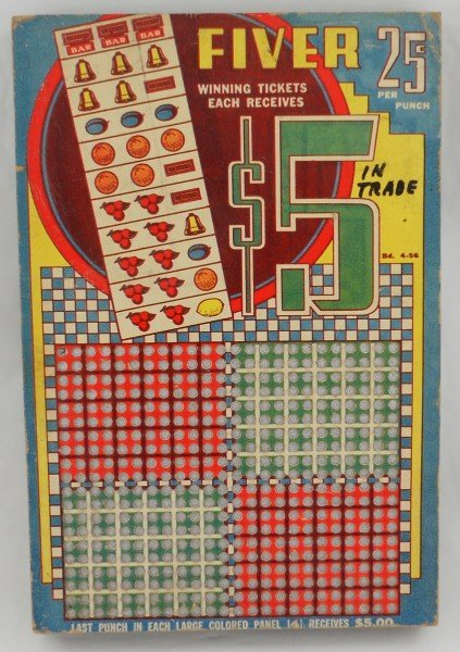 11: Slot Machine format Punchboard