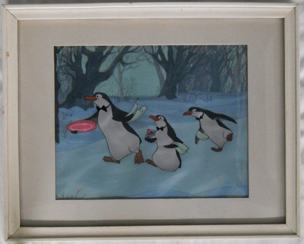 58: Original Celluloid from Mary Poppins - Penguins - 3