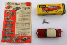 Vintage Schuco Micro-Racer Mercedes 220S With Box