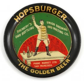 Hopsburger Beer Tip Tray
