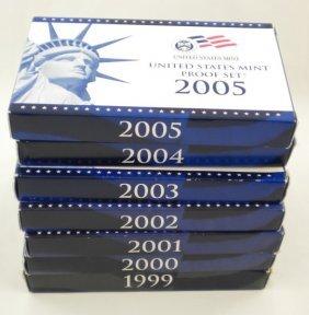 1999 - 2005  (7) U.S. Proof Sets