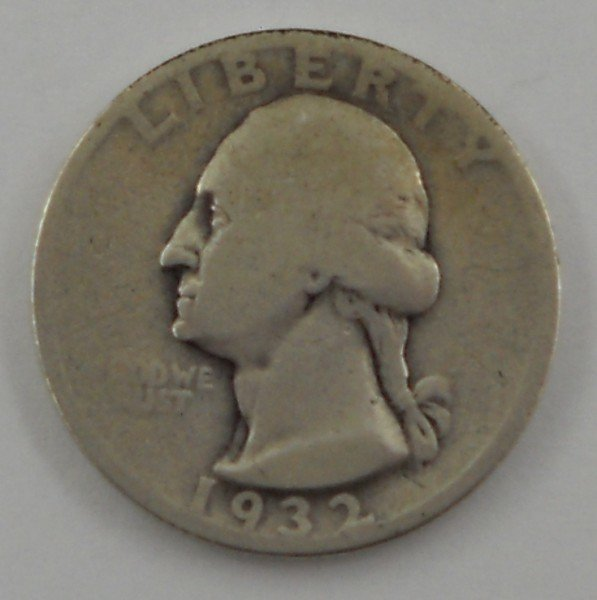 134: 1932 - S United States Washington Quarter