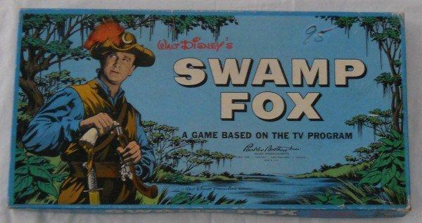 136: Walt Disney's Swamp Fox board game by Parker Broth