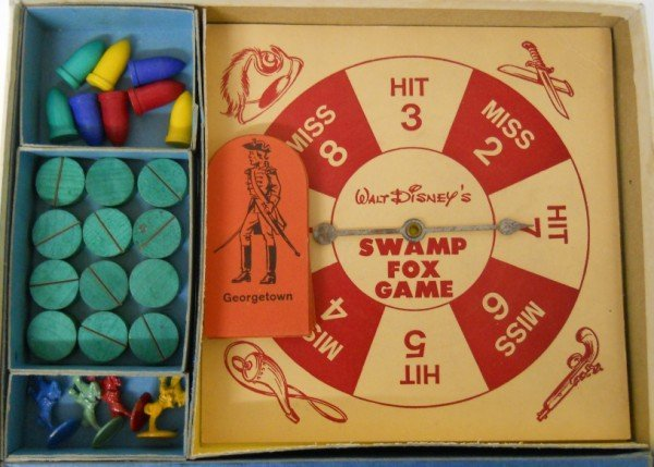 136: Walt Disney's Swamp Fox board game by Parker Broth - 3