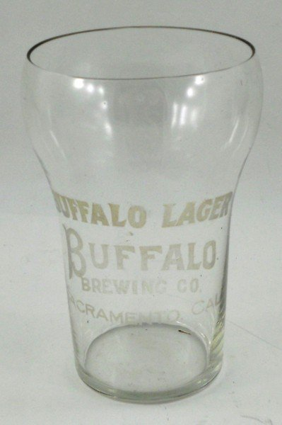 141: Buffalo Lager - Buffalo Brewing Co. Etched Glass
