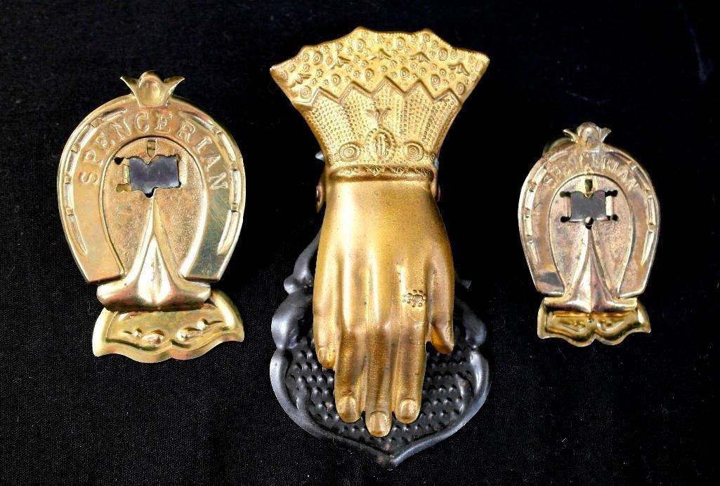 Victorian Figural Bill Holders