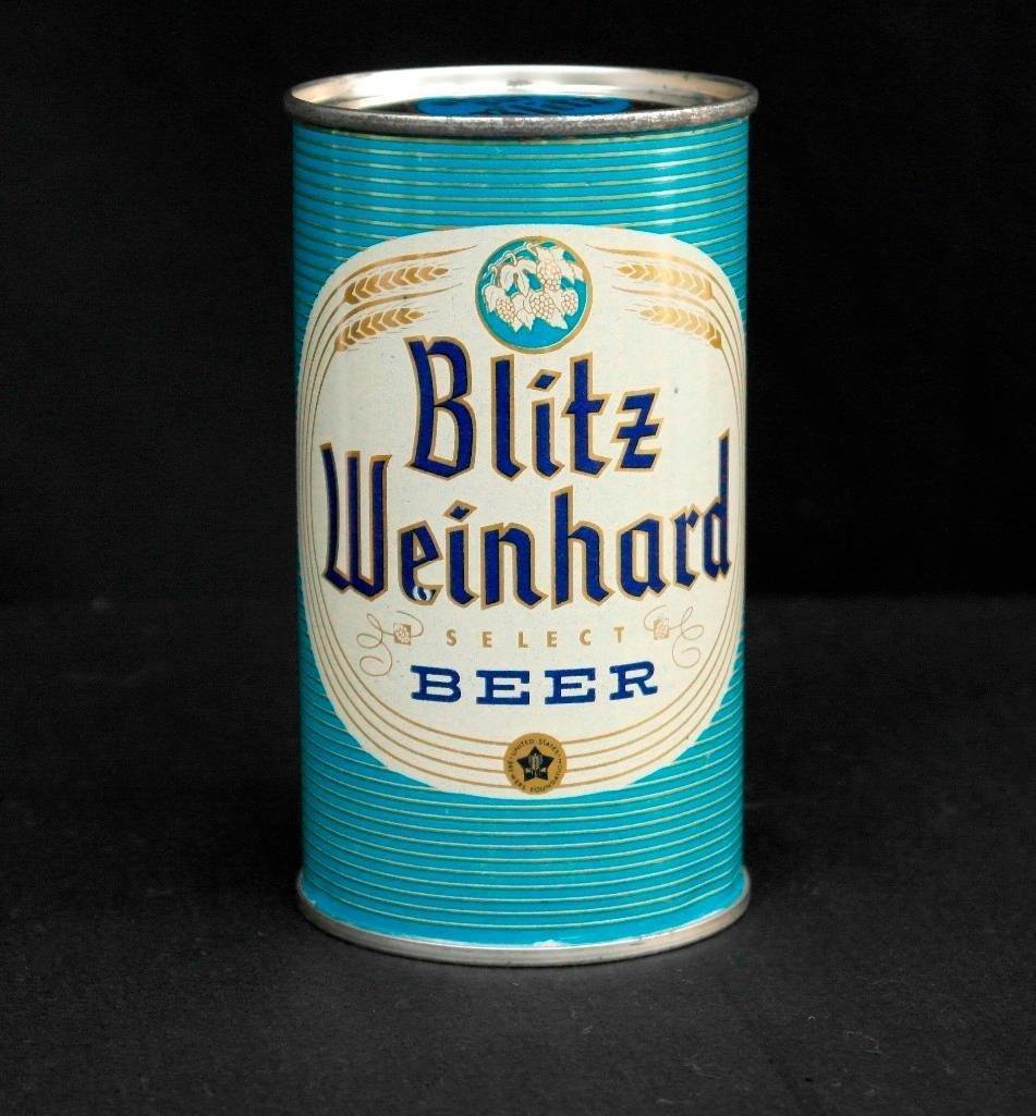 Blitz Weinhard Flat Top Beer Can